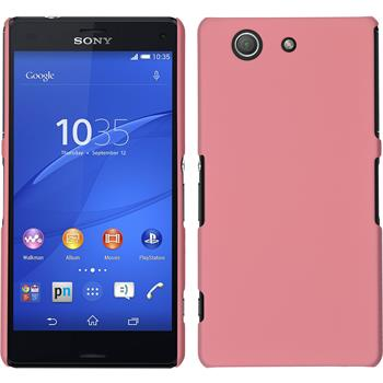 Hardcase Xperia Z3 Compact gummiert rosa