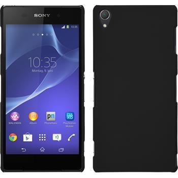 Hardcase für Sony Xperia Z3 gummiert schwarz