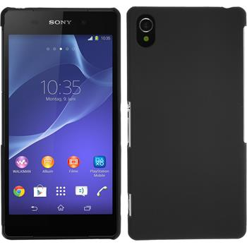 Hardcase for Sony Xperia Z2 rubberized black