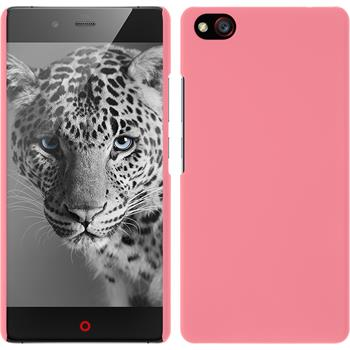 Hardcase für ZTE Nubia Z9 Max gummiert rosa