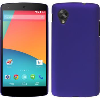 Hardcase Nexus 5 gummiert lila