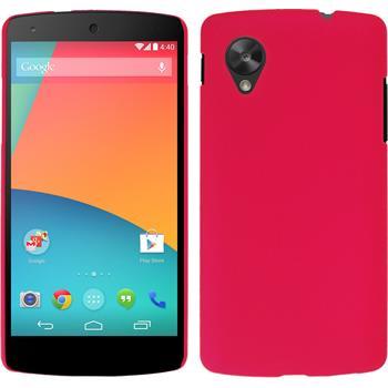 Hardcase Nexus 5 gummiert pink