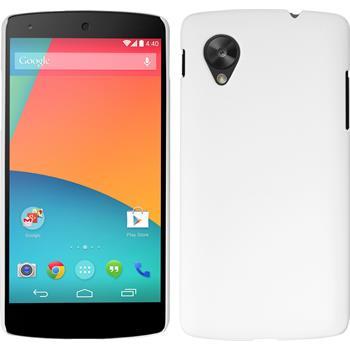 Hardcase Nexus 5 gummiert weiß