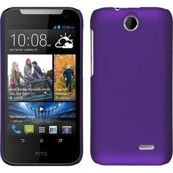 Hardcase for HTC Desire 310 rubberized purple