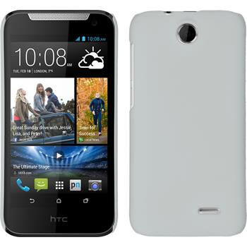 Hardcase for HTC Desire 310 rubberized white