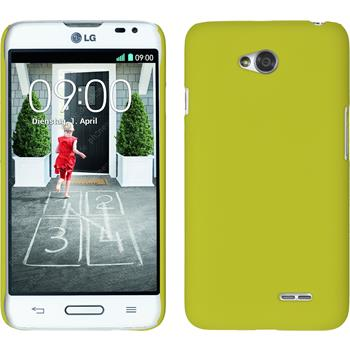 Hardcase for LG L70 rubberized yellow