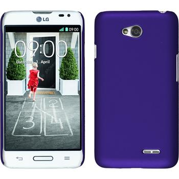 Hardcase for LG L70 rubberized purple