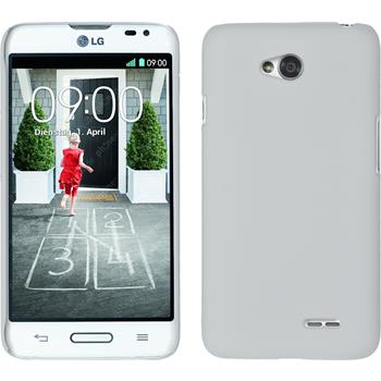 Hardcase for LG L70 rubberized white