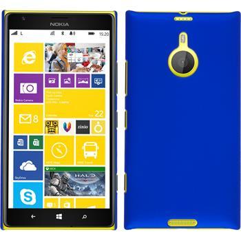 Hardcase Lumia 1520 gummiert blau