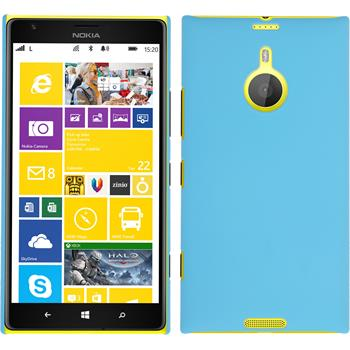 Hardcase for Nokia Lumia 1520 rubberized light blue