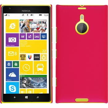 Hardcase for Nokia Lumia 1520 rubberized hot pink