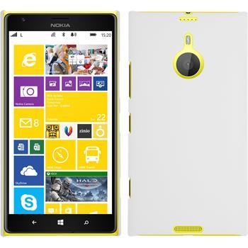 Hardcase Lumia 1520 gummiert weiß