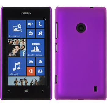 Hardcase Lumia 520 gummiert lila