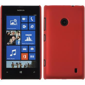 Hardcase Lumia 520 gummiert rot