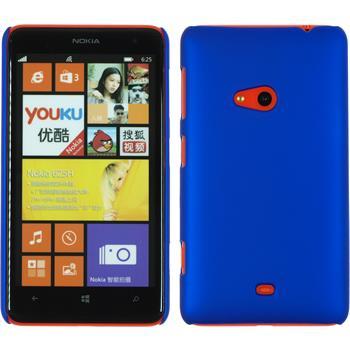 Hardcase Lumia 625 gummiert blau