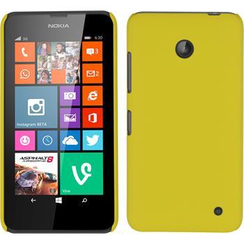 Hardcase Lumia 630 gummiert gelb
