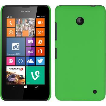 Hardcase Lumia 630 gummiert grün