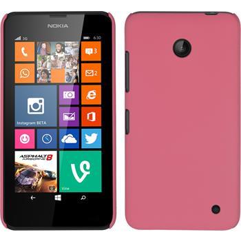 Hardcase Lumia 630 gummiert rosa