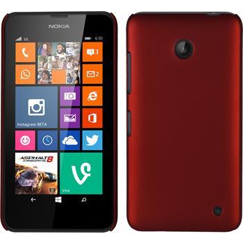 Hardcase Lumia 630 gummiert rot