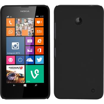 Hardcase for Nokia Lumia 630 rubberized black