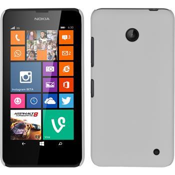 Hardcase Lumia 630 gummiert weiß