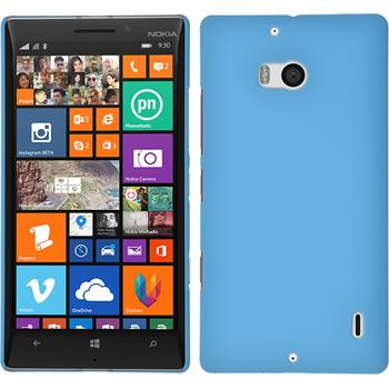Hardcase for Nokia Lumia 930 rubberized light blue