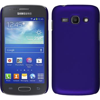 Hardcase for Samsung Galaxy Ace 3 rubberized purple