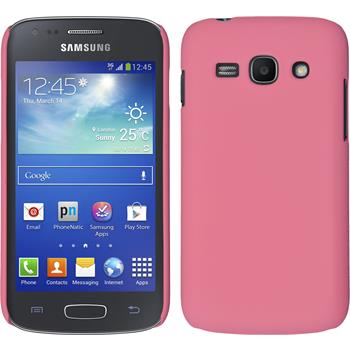 Hardcase Galaxy Ace 3 gummiert rosa