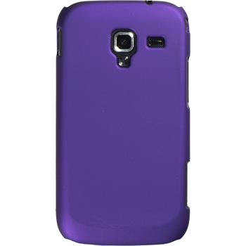 Hardcase for Samsung Galaxy Ace 2 rubberized purple