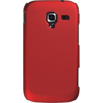 Hardcase for Samsung Galaxy Ace 2 rubberized red