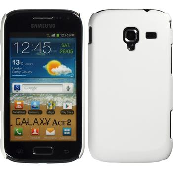 Hardcase for Samsung Galaxy Ace 2 rubberized white