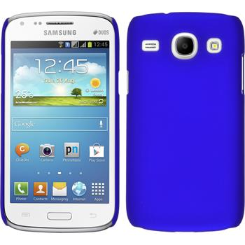 Hardcase for Samsung Galaxy Core rubberized blue