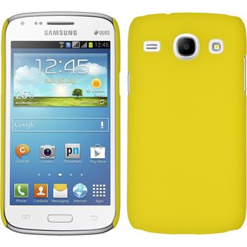 Hardcase for Samsung Galaxy Core rubberized yellow