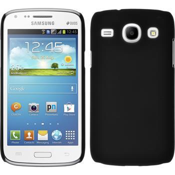 Hardcase für Samsung Galaxy Core gummiert schwarz