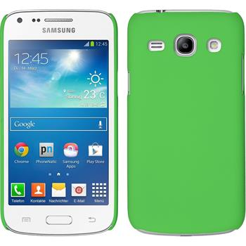 Hardcase Galaxy Core Plus gummiert grün