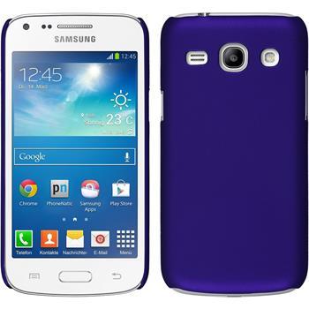Hardcase für Samsung Galaxy Core Plus gummiert lila