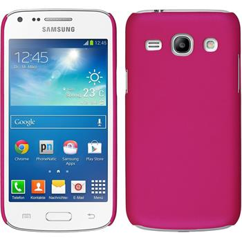 Hardcase for Samsung Galaxy Core Plus rubberized hot pink