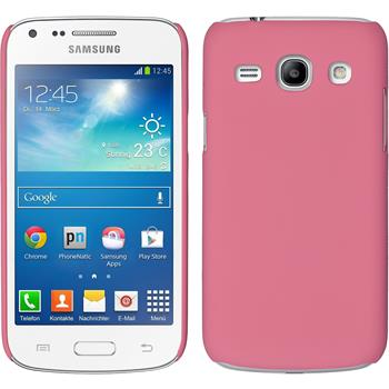 Hardcase Galaxy Core Plus gummiert rosa