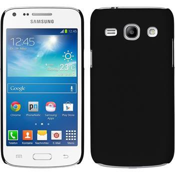 Hardcase Galaxy Core Plus gummiert schwarz