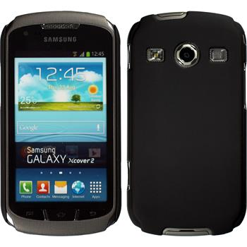 Hardcase for Samsung Galaxy Xcover 2 rubberized black
