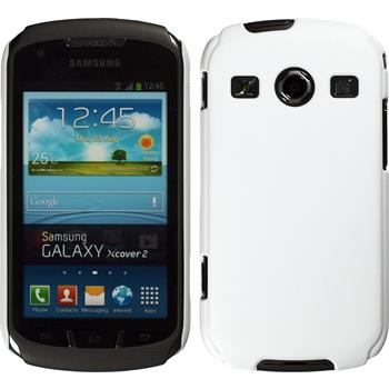 Hardcase for Samsung Galaxy Xcover 2 rubberized white