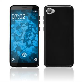 Silicone Case Desire 12  black Case