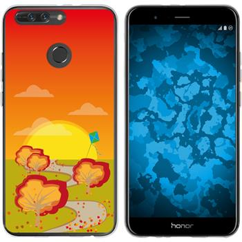 Huawei Honor 8 Pro Silicone Case autumn M2