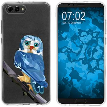 Huawei Honor View 10 Silicone Case vector animals M1