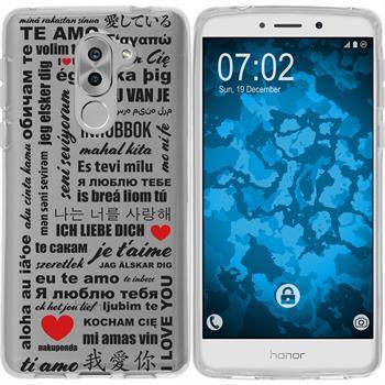 Huawei Honor 6x Silikon-Hülle in Love  M4