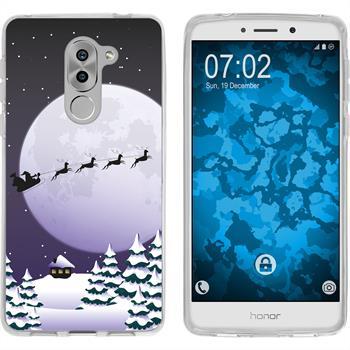 Huawei Honor 6x Silicone Case Christmas X Mas M5