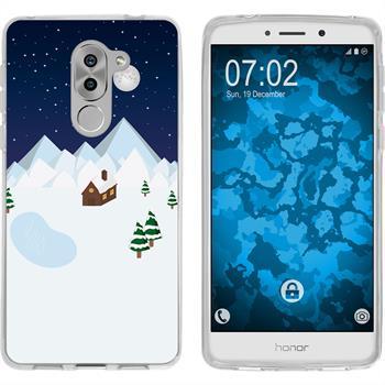 Huawei Honor 6x Silikon-Hülle X Mas Weihnachten  M6