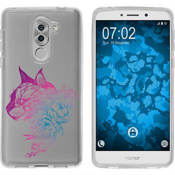Huawei Honor 6x Silikon-Hülle Floral  M2-6