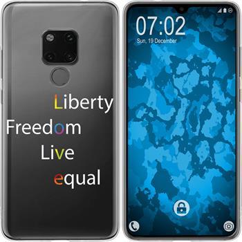 Huawei Mate 20 Silicone Case pride M2