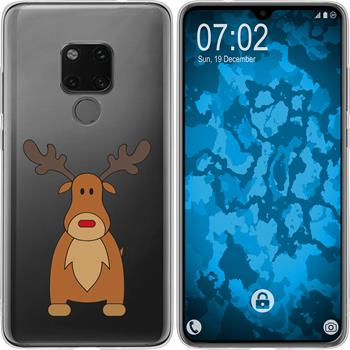 Huawei Mate 20 Silicone Case Christmas X Mas M3